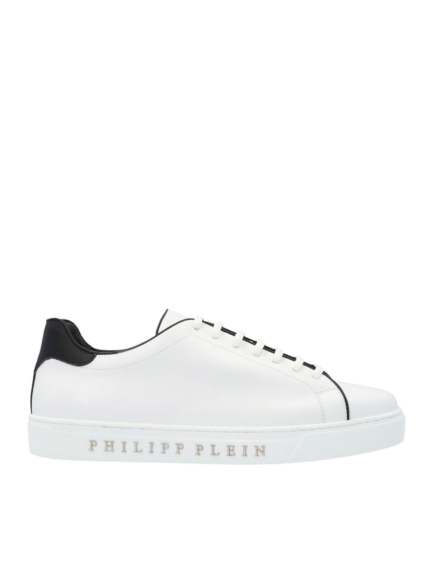 Philipp Plein INSTITUTIONAL SNEAKERS IN WHITE