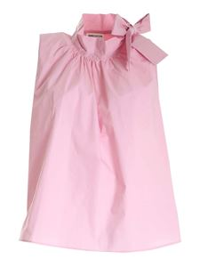 Semicouture - Bow top in pink