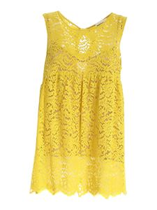 Semicouture - Claudie top in yellow