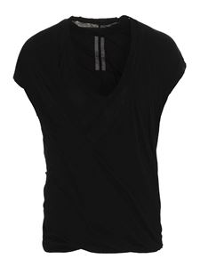 Rick Owens - Double Dylan T T-shirt in black