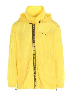 Off-White - Windproof jacket in yellow