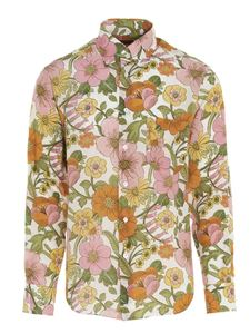 Tom Ford - 60s floral shirt in white