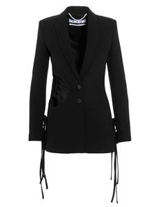 Off-White - Cut out blazer in black
