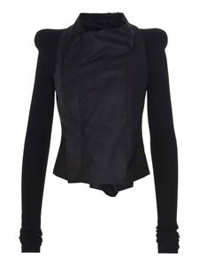 Rick Owens - Cobra Biker biker jacket in black