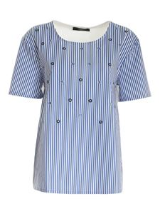Max Mara Weekend - Bolivar blouse in blue and white