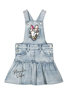 Monnalisa - Daisy Duck overalls in light blue