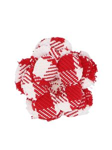 Philosophy di Lorenzo Serafini - Checked pin in red and white