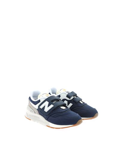 New Balance - 997 sneakers in blue and grey