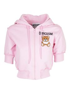 Moschino - Teddy logo sweater in pink