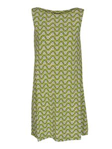 Malìparmi - Happy Frame dress in green and turquoise