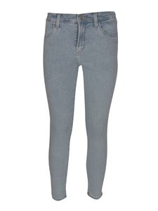 J Brand - Alana cropped jeans in light blue
