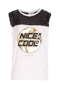 Gaelle Paris - Nice and Cool top in white
