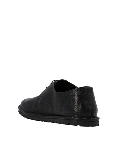 Marsèll - Lace-up leather shoes in black