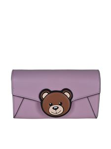 Moschino - Teddy Bear wallet in pink