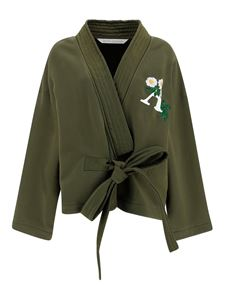Palm Angels - Daisy jacket in green