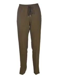 Sportmax - Albino joggers pants in green