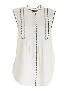 Max Mara Weekend - Ferito blouse in ivory color