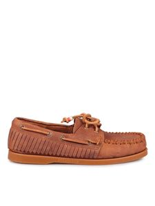 Alanui - Dockside loafers in brown