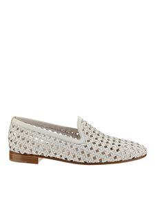 Fratelli Rossetti - Leather loafers in white