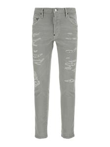 Dsquared2 - Ripped effect jeans in grey