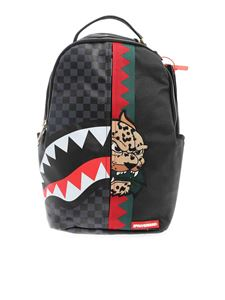 Sprayground - Contrasting details backpack in black and grey