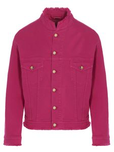 Alexandre Vauthier - Denim jacket in fuchsia