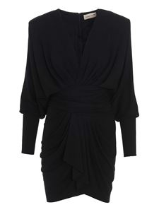 Alexandre Vauthier - Draped dress in black
