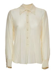 Grifoni - Blouse in ivory color