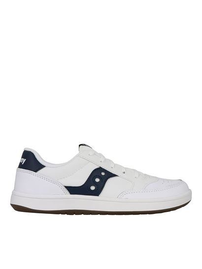 Saucony - Jazz Court sneakers in white and navy
