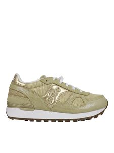 Saucony - Shadow sneakers in Gold color