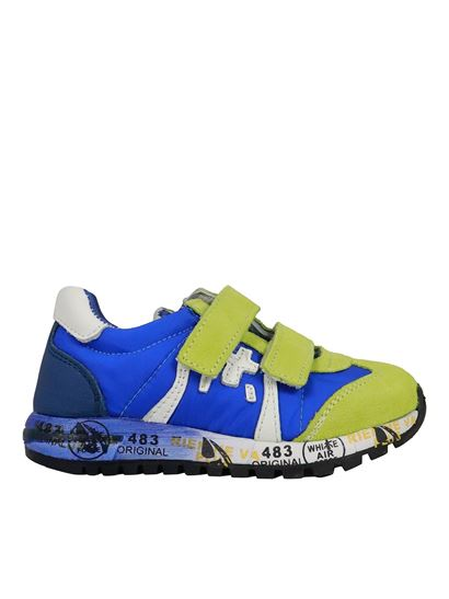 Premiata Will Be - Lucy sneakers in Royal and Green color