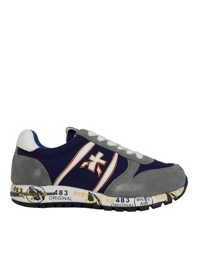 Premiata Will Be - Sky sneakers in gray and blue