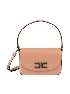 Elisabetta Franchi - Faux leather bag in pink