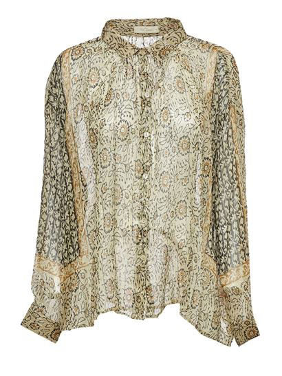 Mes Demoiselles - Heliophile shirt in Ocre color