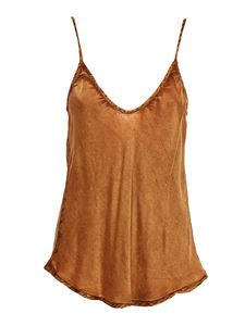 Mes Demoiselles - Stylish top in bronze color
