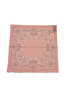 Alanui - Printed scarf in Bubble Pink color