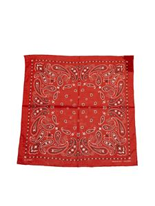 Alanui - Printed scarf in red