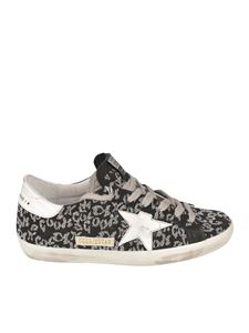 Golden Goose - Superstar sneakers in black and silver