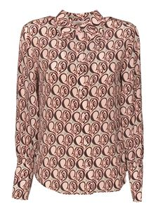 Chloé - All over logo shirt in Powder Pink color