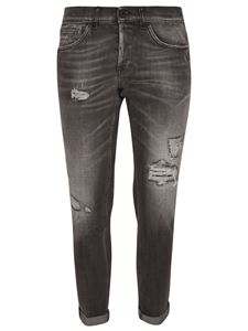 Dondup - Jeans effetto destroyed neri
