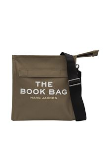 Marc Jacobs  - The Book Bag logo in military green