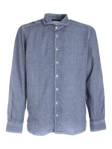 Paolo Fiorillo - Shirt in melange blue
