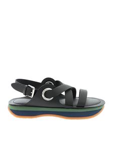 See by Chloé - Contrasting sole sandals in black
