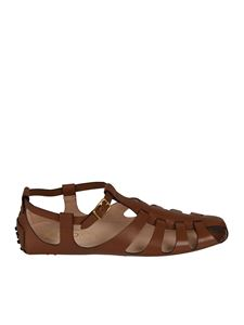 Tod's - Gommino sandals in brown