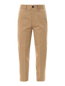 Closed - Stretch cotton pants in beige