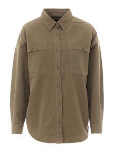 Closed - Cotton shirt in green