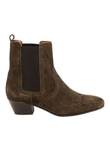 Closed - Bruna ankle boots in green