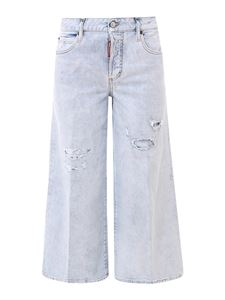 Dsquared2 - Medium Waist Page jeans in light blue