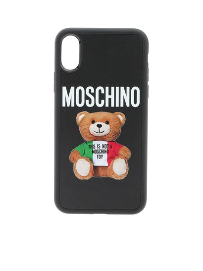 Moschino - Xs/X iPhone case in black