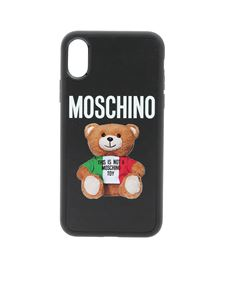Moschino - Cover iPhone Xs/X nera